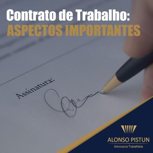 Contrato de Trabalho: Aspectos Importantes